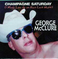Champagne Saturday  CD - with ALIEN LOVE tm